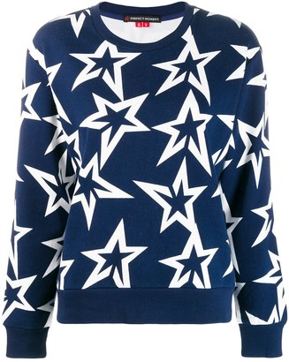 Perfect Moment star-print sweatshirt