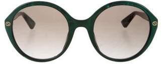 Gucci Round Tinted Sunglasses