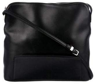 The Row Leather Crossbody Bag