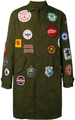DSQUARED2 vintage patch jacket