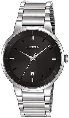 Citizen Quartz Citizen Mens Stainless Steel Watch BI5010-59E