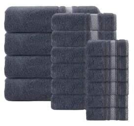 Enchasoft Turkish Cotton Towel/Set of 16