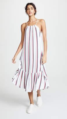 Sundry Tie Back Maxi Dress