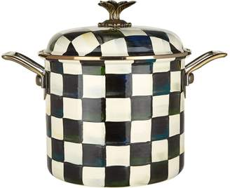 Mackenzie Childs Courtly Check Stockpot