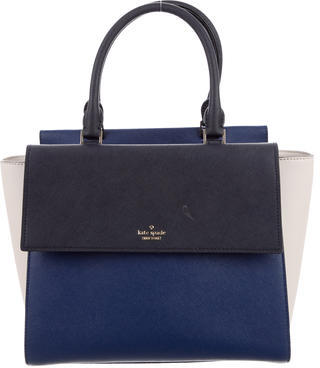 Kate Spade New York Leather Satchel $195 thestylecure.com
