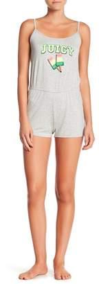 Juicy Couture Print Pajama Romper