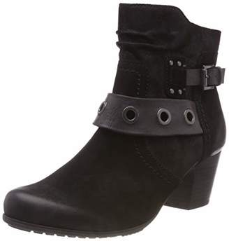 Jana Women's 8-8-25330-21 Ankle Boots, (Black 001)