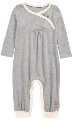 Burt's Bees Baby Wrap Front Organic Cotton Romper