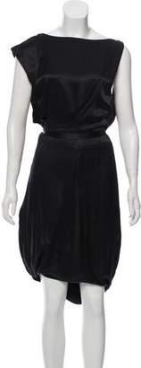 Preen by Thornton Bregazzi Layered Knee-Length Dress