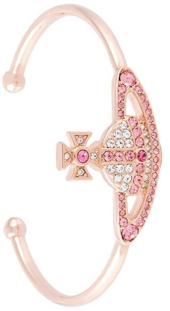 Vivienne WestwoodVivienne Westwood crystal-embellished bracelet