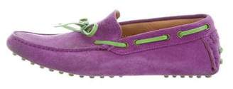 Etro Suede Driving Loafers