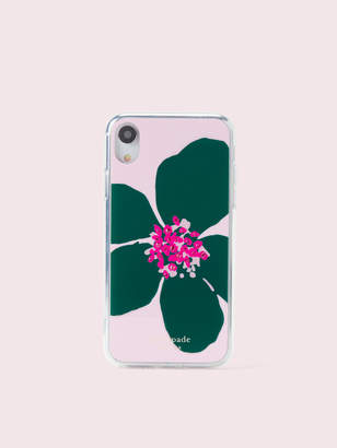 Kate Spade jeweled grand flora iphone xr case