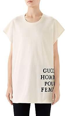 Gucci Women's Short-Sleeve Rocker Tee