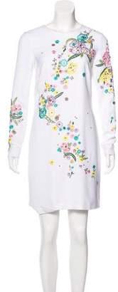 Emilio Pucci Embellished Mini Dress