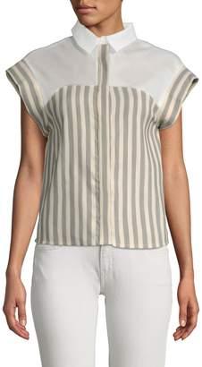 Paul & Joe Sister Women's Santo Boxy Striped Blouse