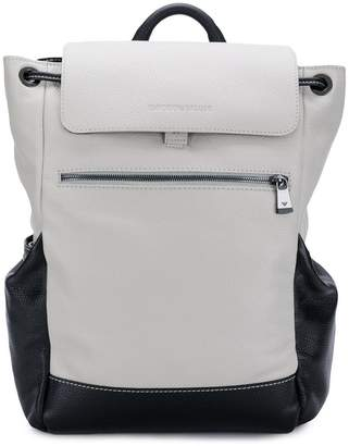 6c55da2d92 Emporio Armani drawstring detail backpack