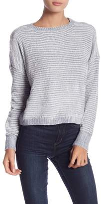 Romeo & Juliet Couture Long Sleeve Striped Sweater