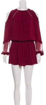 Ramy Brook Duffy Cold-Shoulder Dress