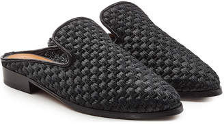 Clergerie Woven Slip-On Loafers