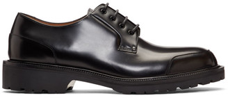Dries Van Noten Black Rubber Sole Derbys