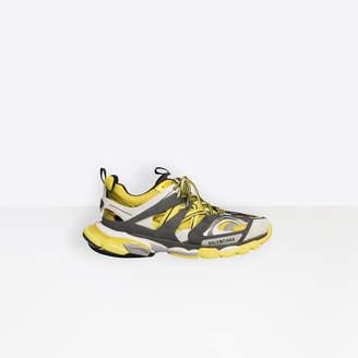Balenciaga Track trainers in yellow, dark grey and white mesh and nylon