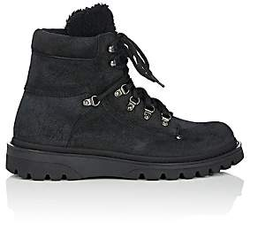 Moncler Men's Egide Suede Hiking Boots - Black
