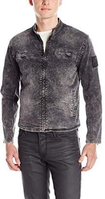"True Religion Men's 1/4"" Slim Moto Jacket"