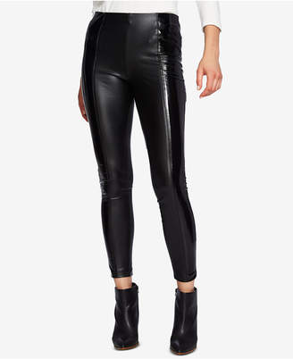 1 STATE 1.state Faux-Leather Pull-On Leggings