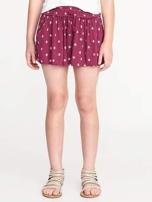 Old Navy Crinkle-Gauze Pull-On Shorts for Girls