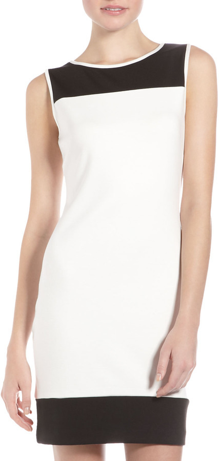 Laundry by Shelli Segal Colorblock Sheath Dress