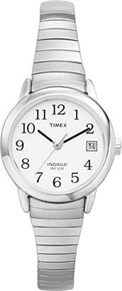 Timex T2H371 Women's Easy Reader Dial Stainless Steel Expansion Bracelet Watch