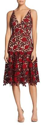 Dress the Population Lily Floral Lace Dress