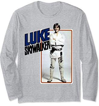 Star Wars Luke Skywalker Smiling Card Long Sleeve Tee