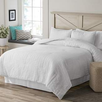 Better Homes & Gardens Seersucker Stripes Comforter Set Twin/Twin XL