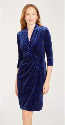 J.Mclaughlin Lillian Velour Dress in Twinkling Lights