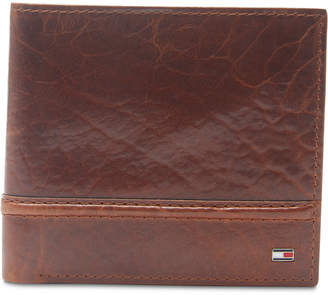 Tommy Hilfiger Men Brevon Hipster Rfid Leather Wallet