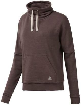 Reebok El Marble High Neck Sweatshirt