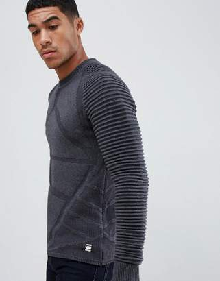 G Star G-Star Suzaki turtle neck jumper in black