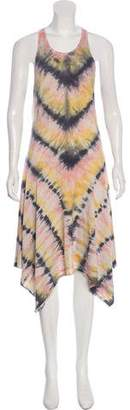 Raquel Allegra Sleeveless Midi Dress