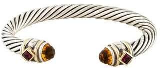 David Yurman Citrine & Garnet Renaissance Bracelet