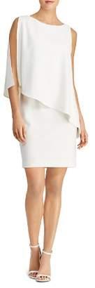 Ralph Lauren Asymmetric Crêpe Dress