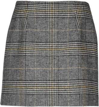 ALEXACHUNG Knee length skirts