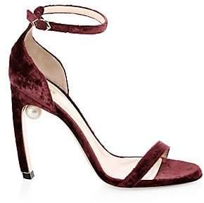 Nicholas Kirkwood Women's Mira Faux Pearl Stiletto Sandals