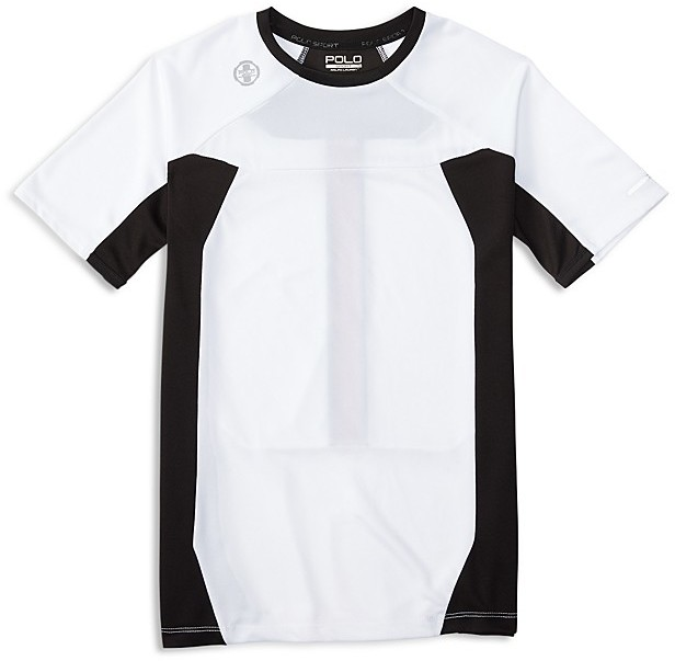 Ralph Lauren Childrenswear Boys' Pieced Performance Tee - Sizes S-XL