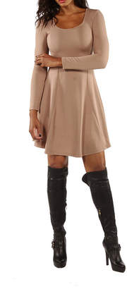 24/7 Comfort Apparel Temptress Fit & Flare Dress