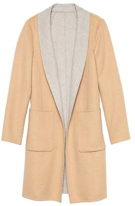 Banana Republic Reversible Wool Car Coat