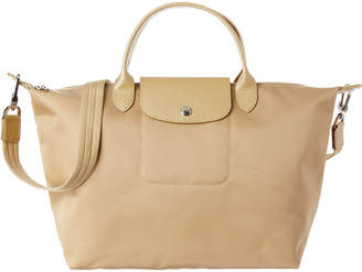 Longchamp Le Pliage Neo Medium Nylon Top Handle Tote