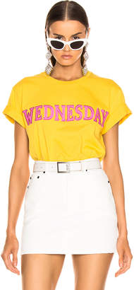 Alberta Ferretti Wednesday Tee in Yellow | FWRD