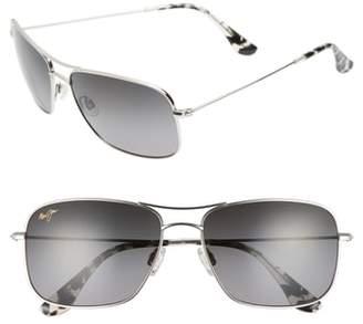 Maui Jim Wiki Wiki 59mm PolarizedPlus2(R) Aviator Sunglasses