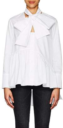 Osman Women's Bianca Tieneck Cotton Twill Blouse